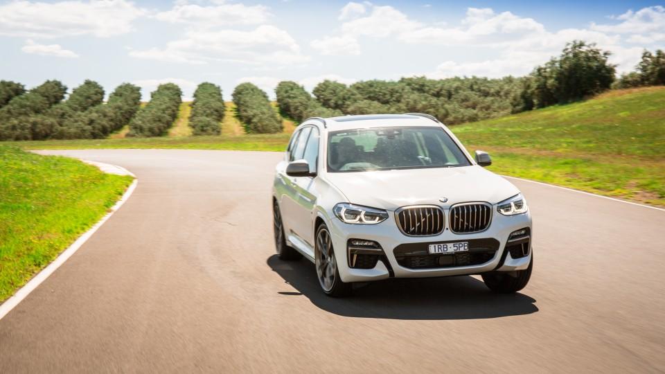 Drive Car of the Year Best Medium Luxury SUV 2021 finalist BMW X3