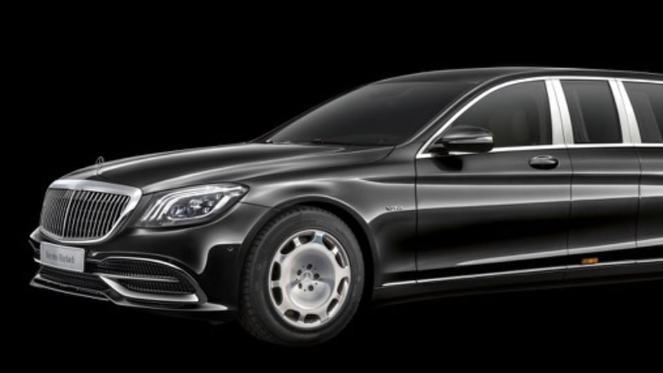 2018 Mercedes-Maybach Pullman refreshed