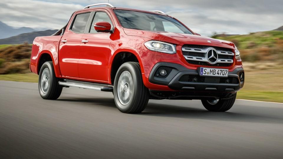 Mercedes-Benz X-Class gets top safety score