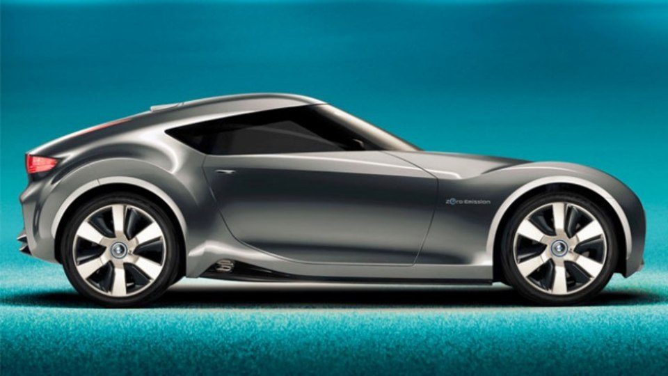 Nissan's Esflow concept was revealed in 2011. The Japanese brand is planning a new small coupe, which may look similar to the Esflow electric sports car.