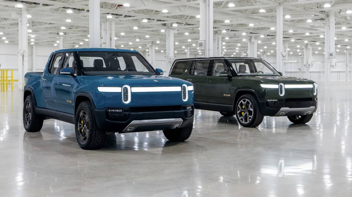 Rivian's rival to Tesla pick-up on sale next year - report