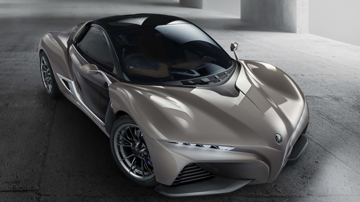 Yamaha Sports Ride Concept Debuts As Low-Fat Supercar - Tokyo Motor Show