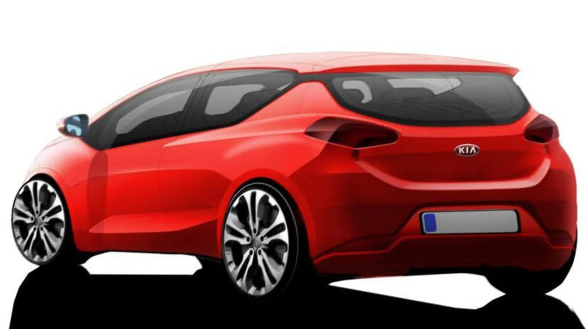Kia Pro_Cee'd Three-door Teased Further In New Artwork