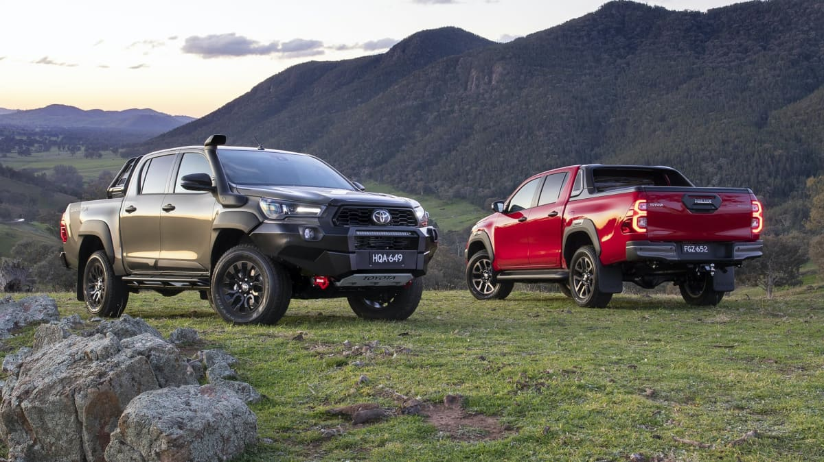 2021 Toyota HiLux Rugged X and Rogue unveiled, prices confirmed for wider range