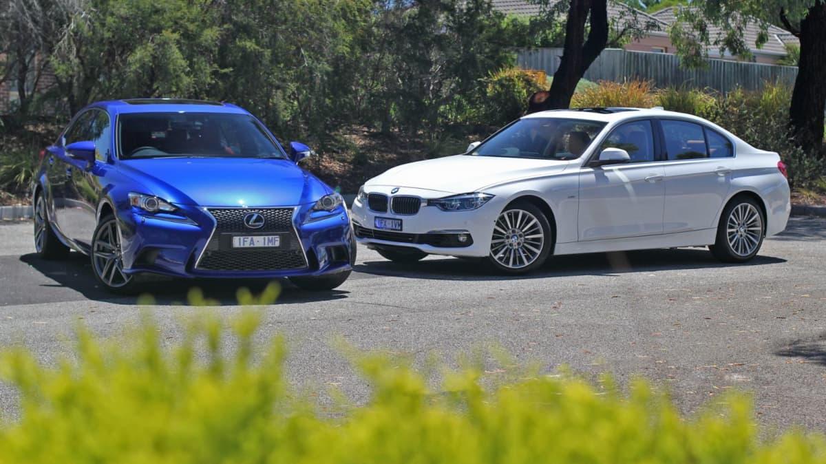 2016 Lexus IS 200t vs BMW 318i Comparison REVIEW - Affordable, Smart... But Who Wins?