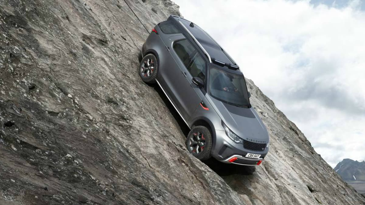 JLR SVO Bring You The Land Rover Discovery SVX Off-Road Special