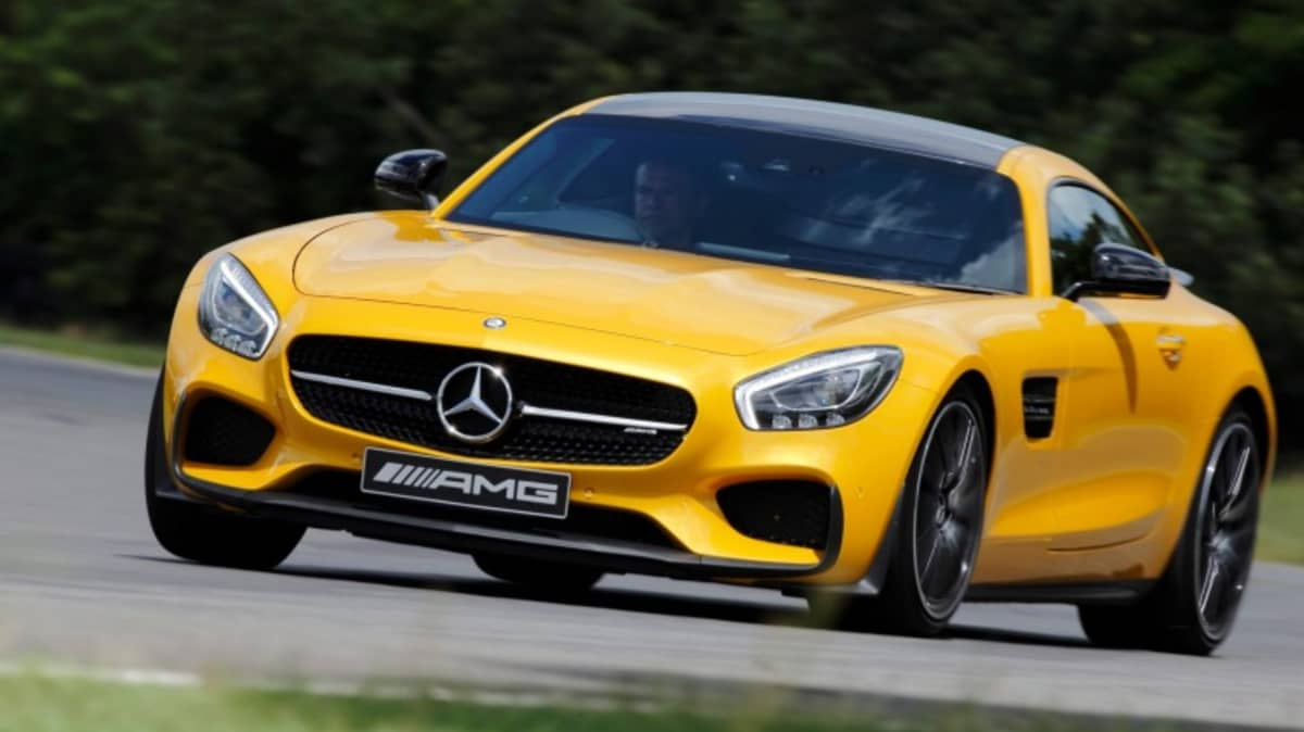 The Mercedes-AMG GT is significantly cheaper overseas.