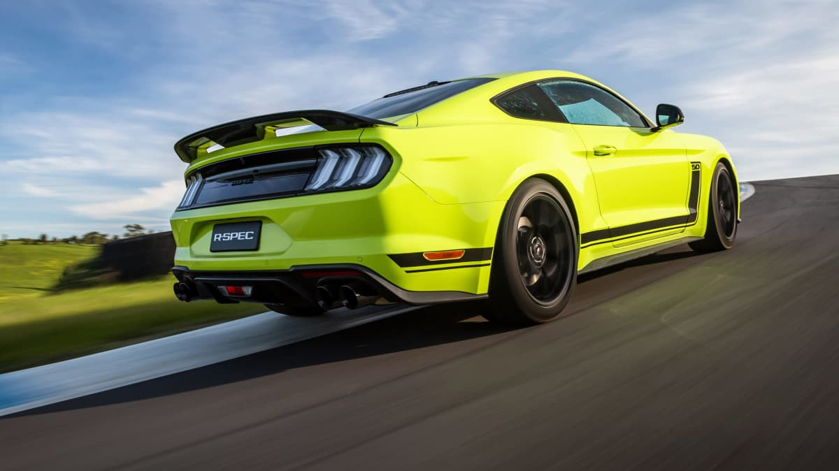 2020 Ford Mustang R-Spec review: Track test-4