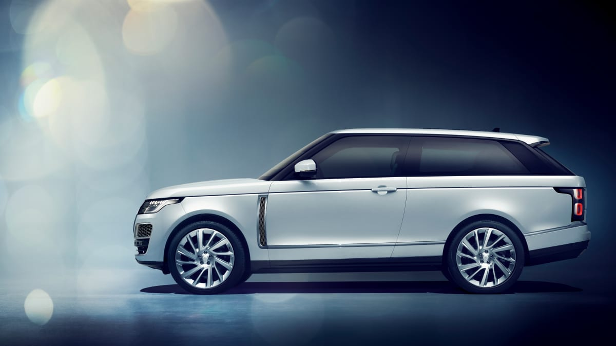 Range Rover SV Coupe.