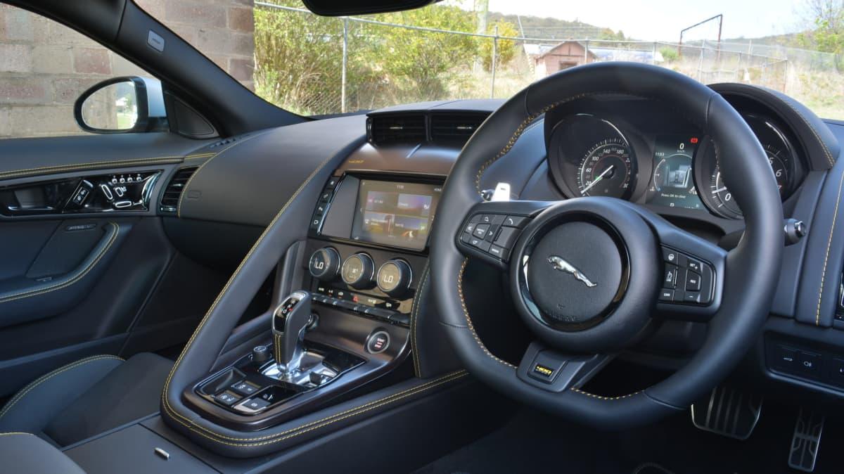 Sports coupe coup – Jaguar F-Type 400 Sport v Lexus LC500 Comparison Review-3