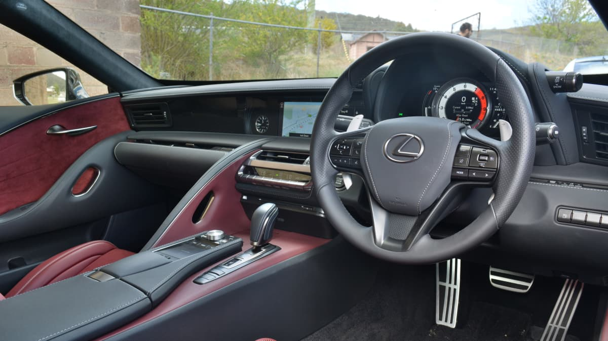 Sports coupe coup – Jaguar F-Type 400 Sport v Lexus LC500 Comparison Review-4