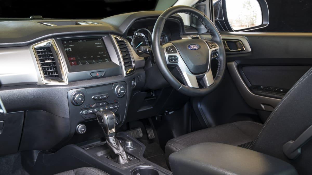 2020 best dual cab ute ford ranger xlt interior