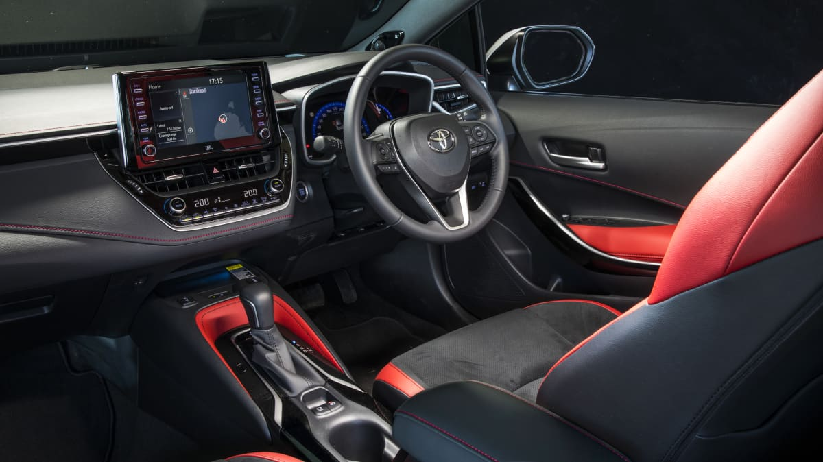 2020 best small car finalist toyota corolla interior
