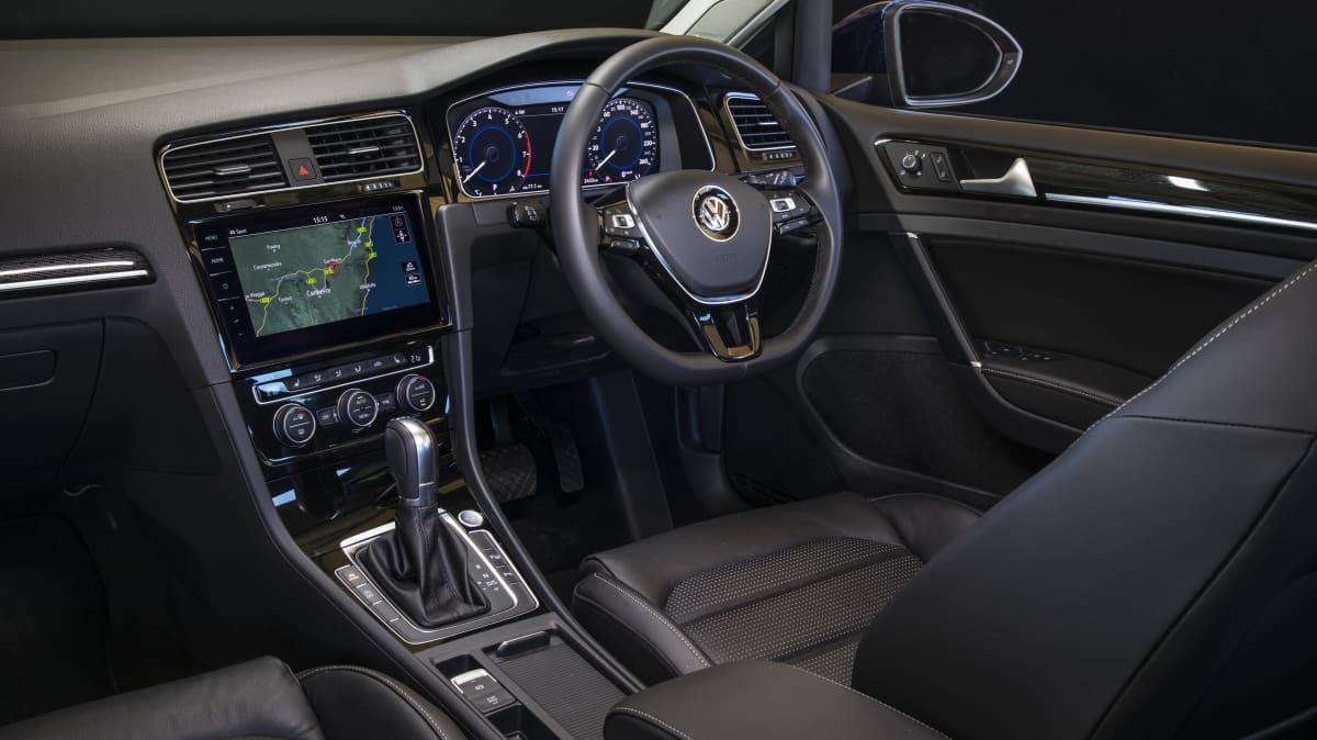 2020 best small car finalist volkswagen golf interior