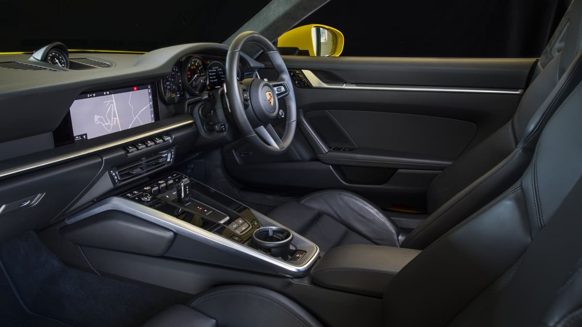 2020 best sports car over $100k porsche 911 carrera s interior