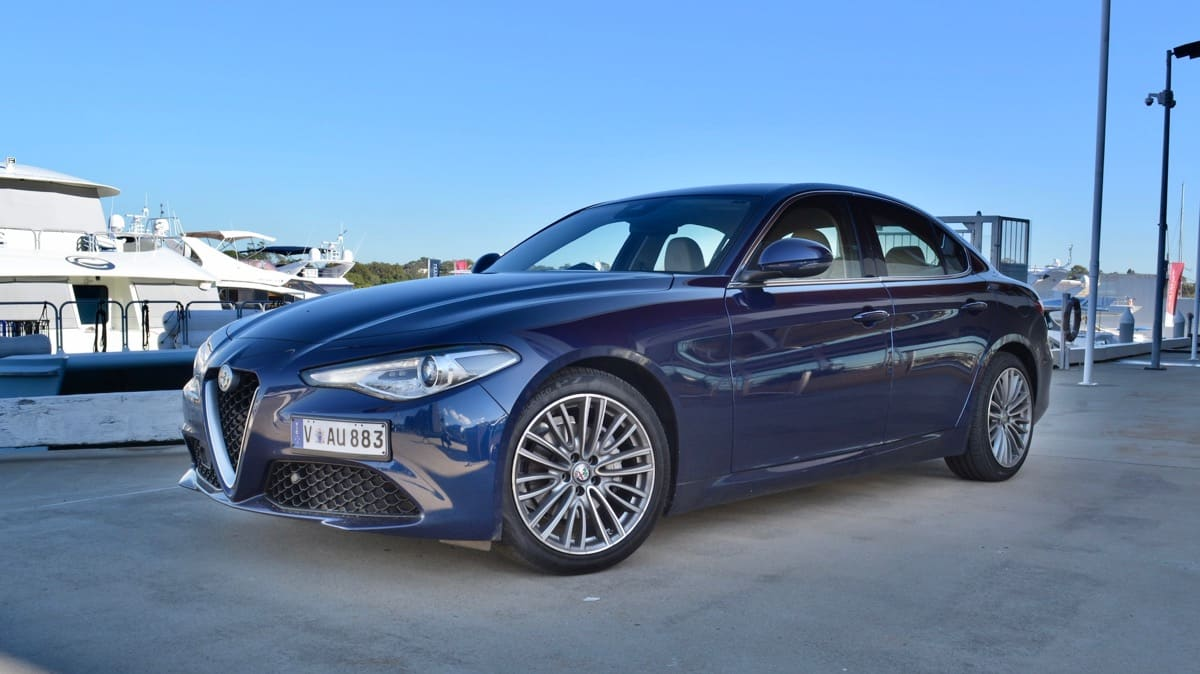 2018 Alfa Romeo Giulia Super new car review