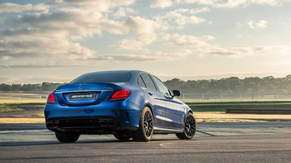 Mercedes-AMG C63 Track Test-3