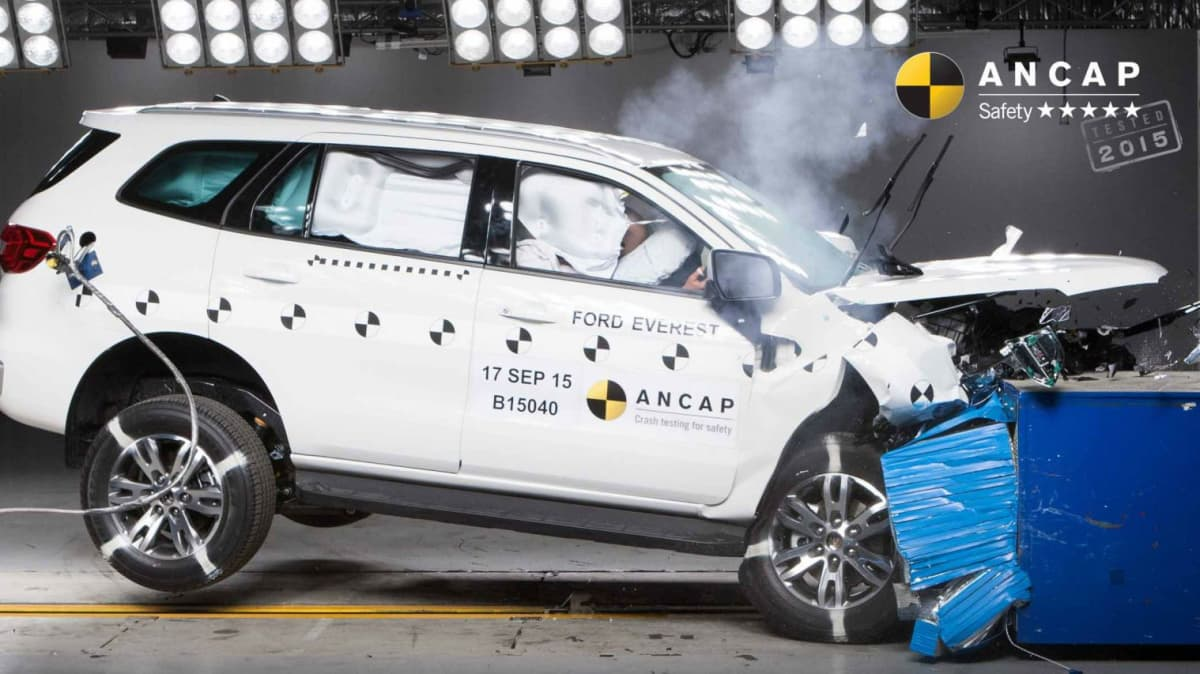 ANCAP - Seven 5-Star Results In Latest Safety Testing