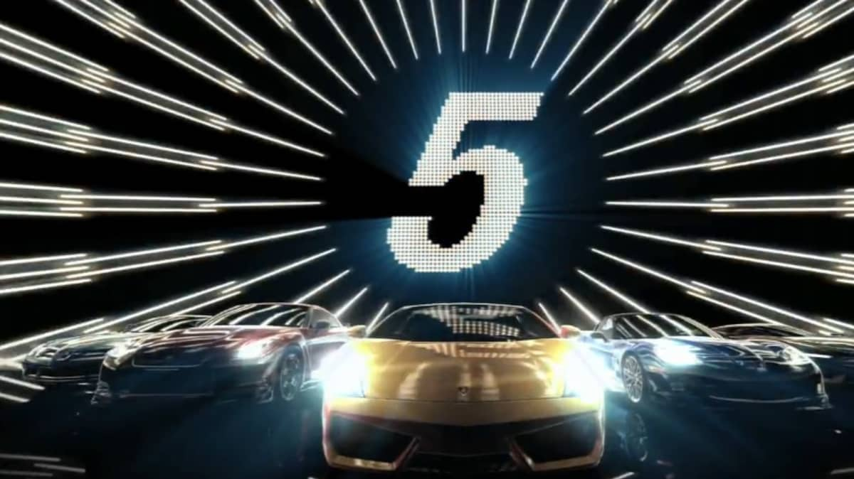 Gran Turismo 5 On The Top Gear Test Track: Video