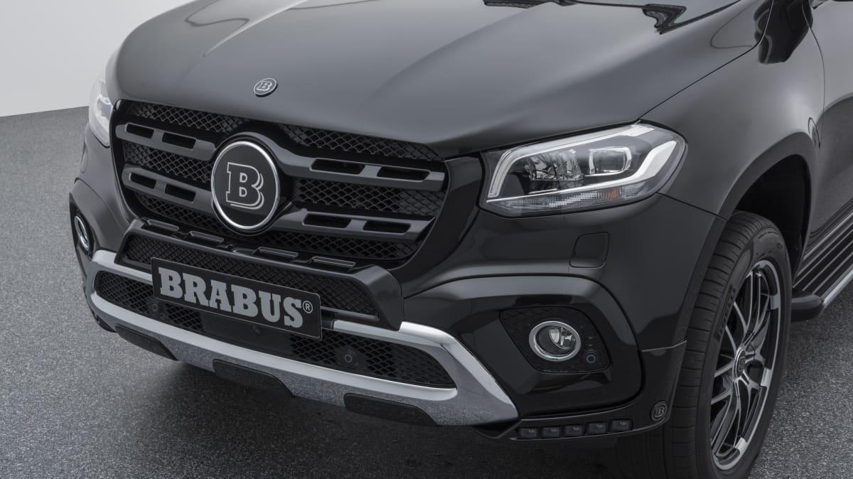 2018 Brabus Mercedes-Benz X-Class.
