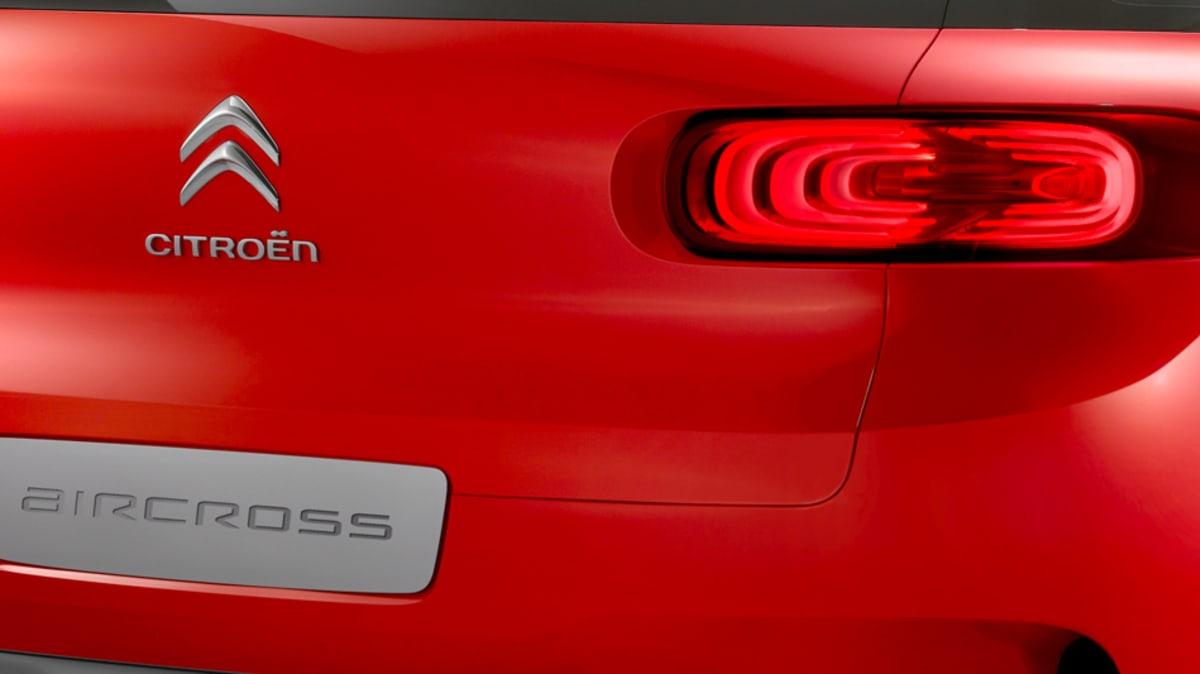 Citroen Aircross Teased Further