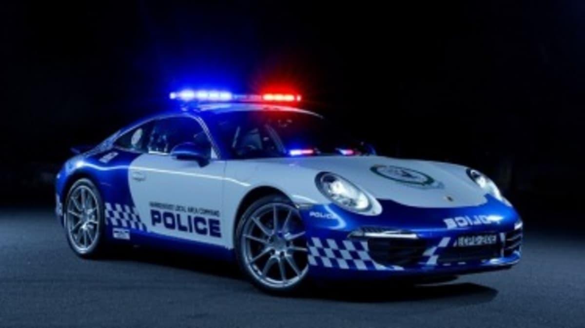 New Porsche 911 for NSW Police
