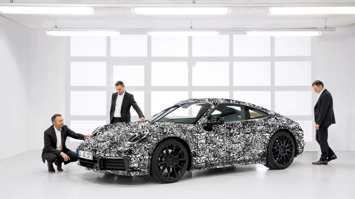Five things we know about Porsche's next 911