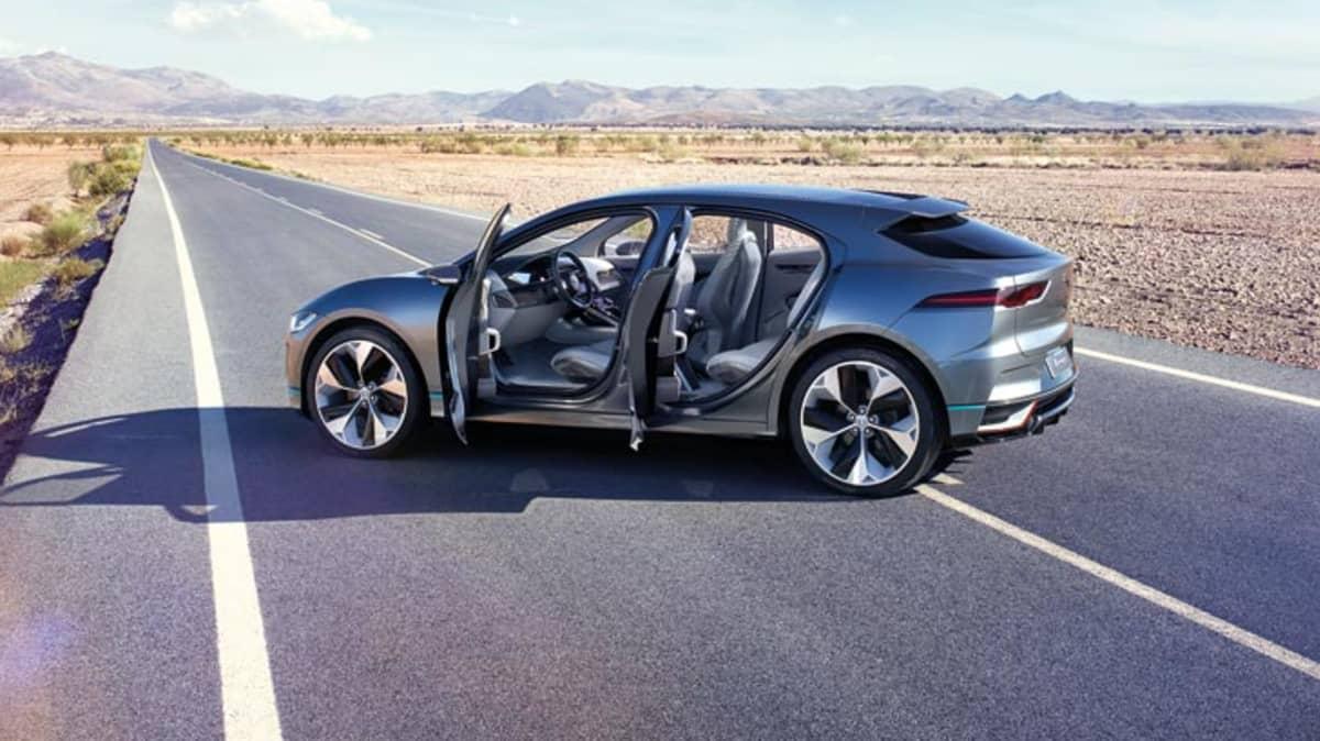Jaguar Reveals Electric I-Pace SUV