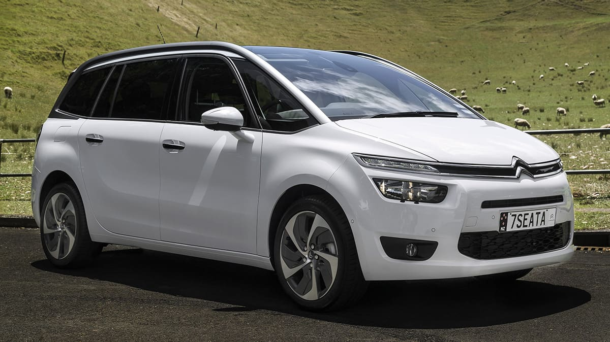 2014 Citroen C4 Grand Picasso: Price And Features For Australia