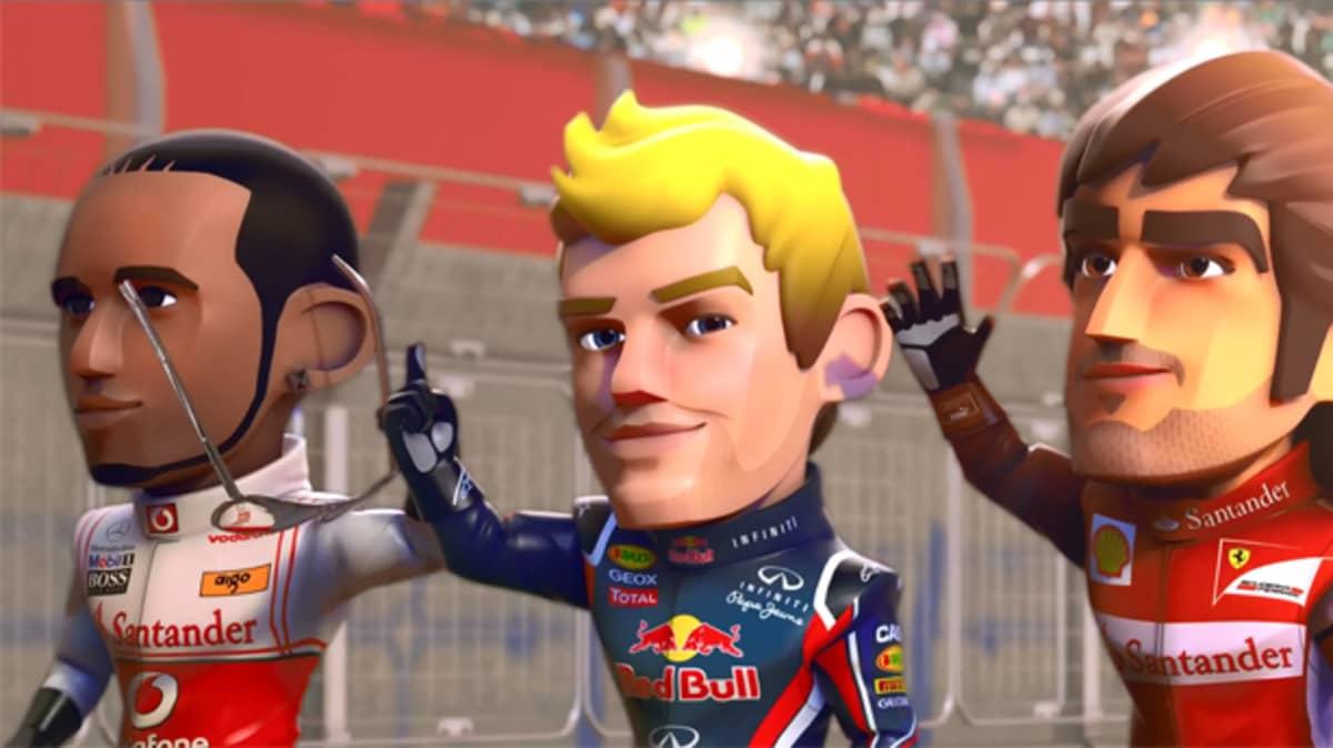 Gaming: F1 Race Stars, Where Formula 1 Meets Mario Kart - Video