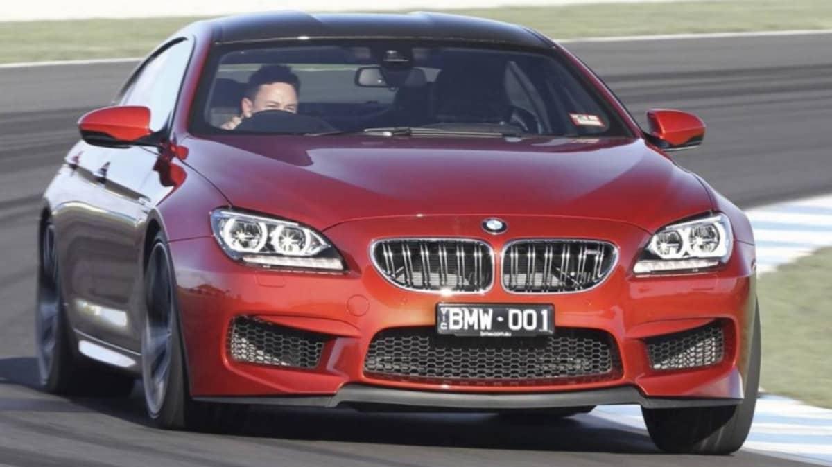 BMW M6 Gran Coupe.