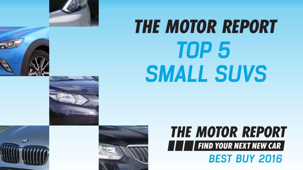 TMR Best Buy 2016 - Top 5 Small SUVs: Honda HR-V, Mazda CX-3, Skoda Yeti, Nissan Qashqai, BMW X1