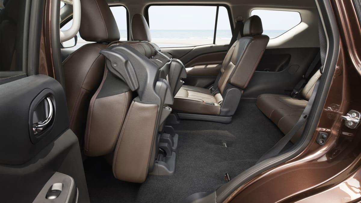 The Nissan Terra is a Navara-based seven-seat wagon.