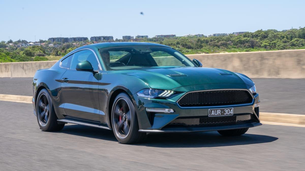 Ford Mustang Bullitt 2019 new car review-1