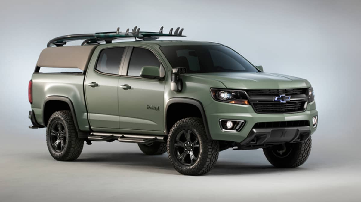 Chevrolet Gets Adventure-Ready With SEMA Trax And Colorado Concepts