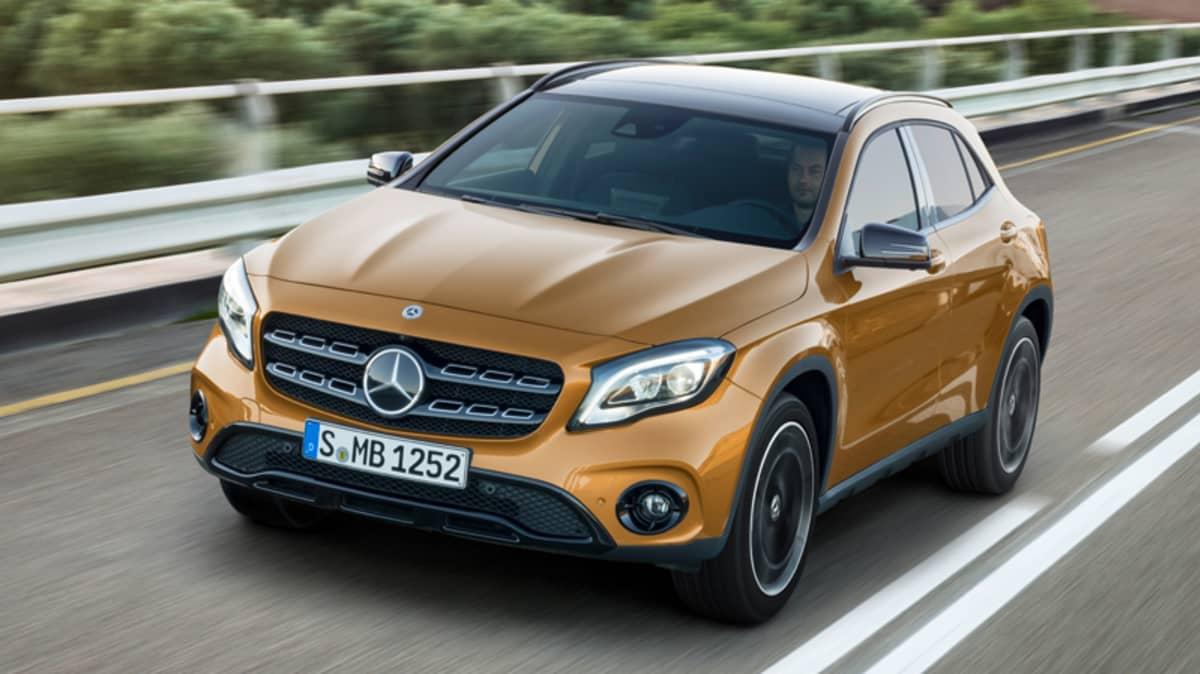 Refreshed Mercedes-Benz GLA Range Detailed