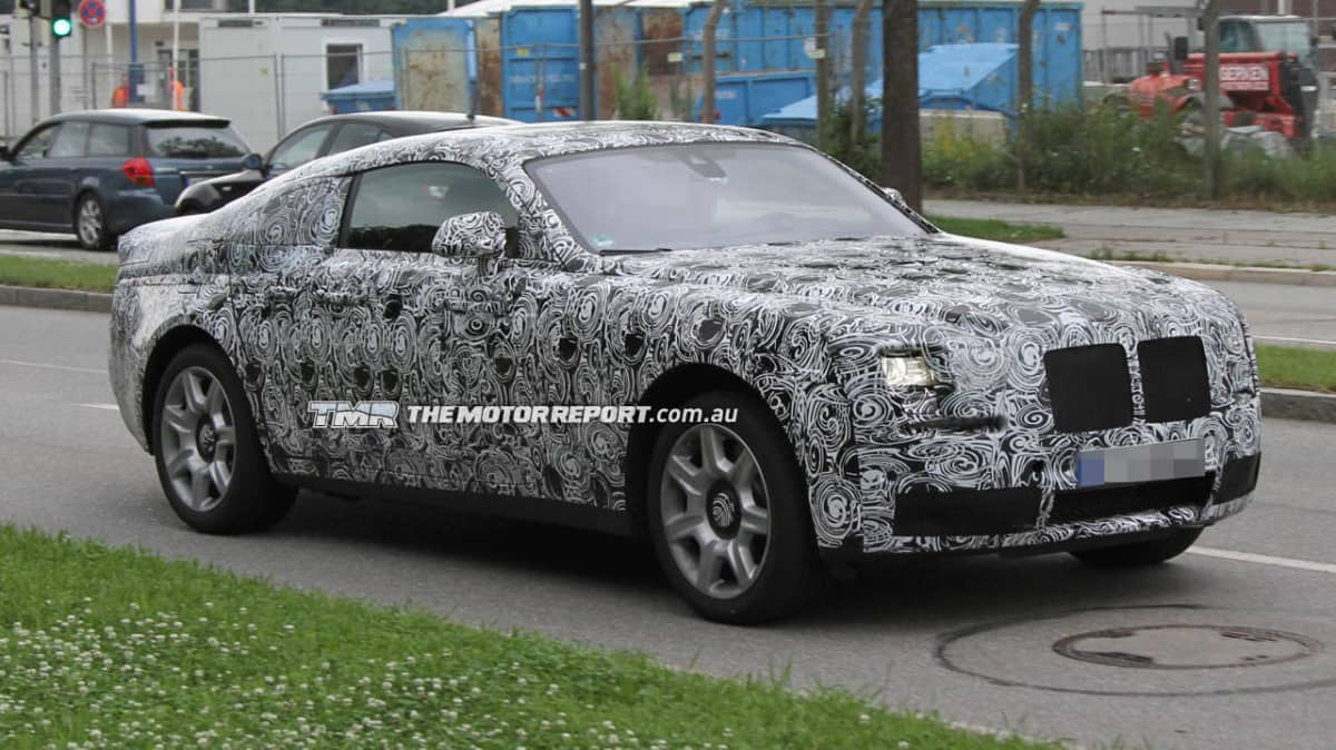 Rolls-Royce Ghost Corniche Coupe Could Be Quickest Rolls Ever: Report