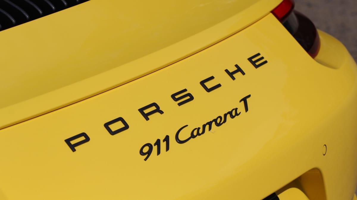 2018 Porsche 911 Carrera T.