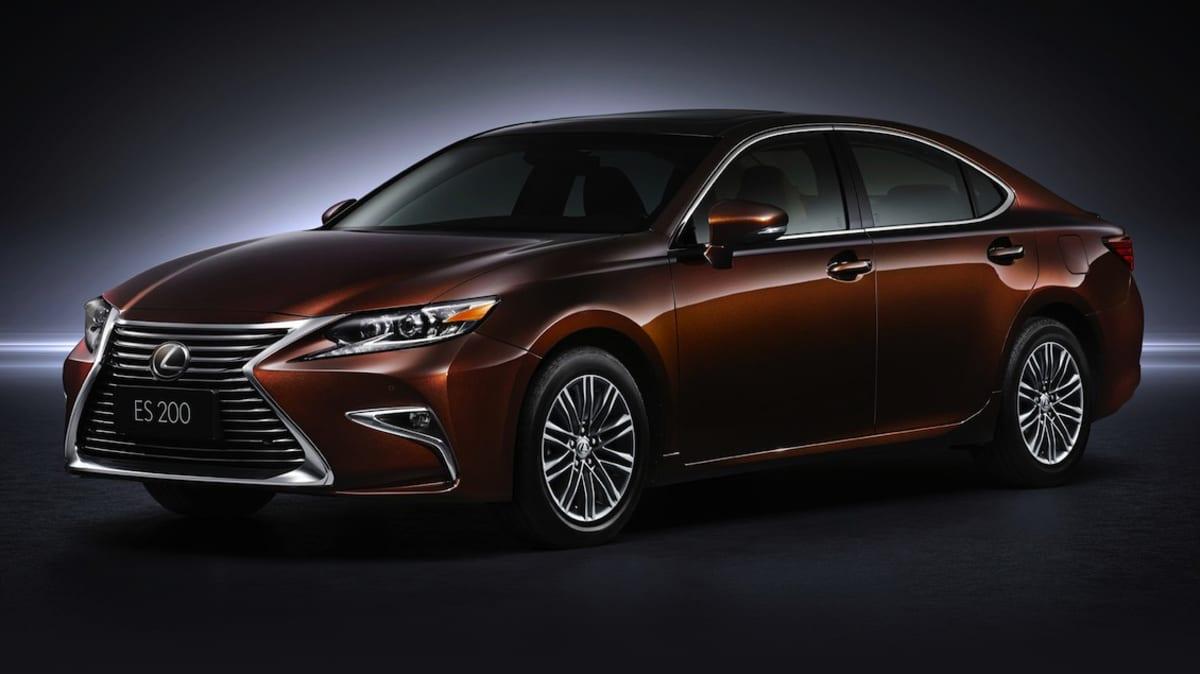 New Lexus ES Facelift Revealed, Late 2015 Australian Debut Confirmed
