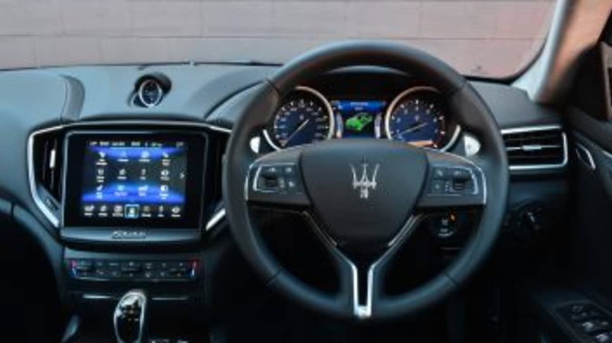 2017 Maserati Ghibli.