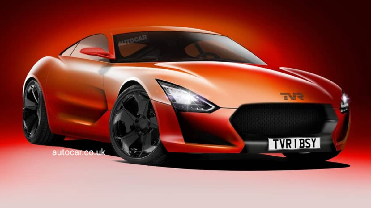 TVR Reveals New Supercar