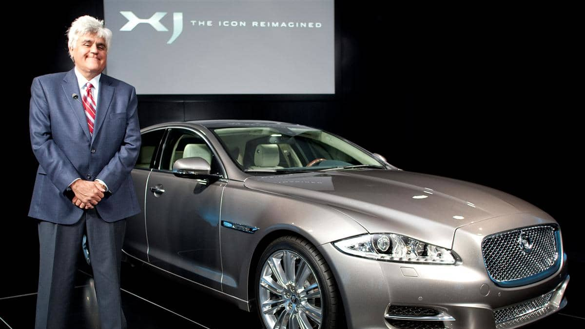 Jay Leno at the Launch of the new Jaguar XJ at the Saatchi Gallery London 9th July 2009