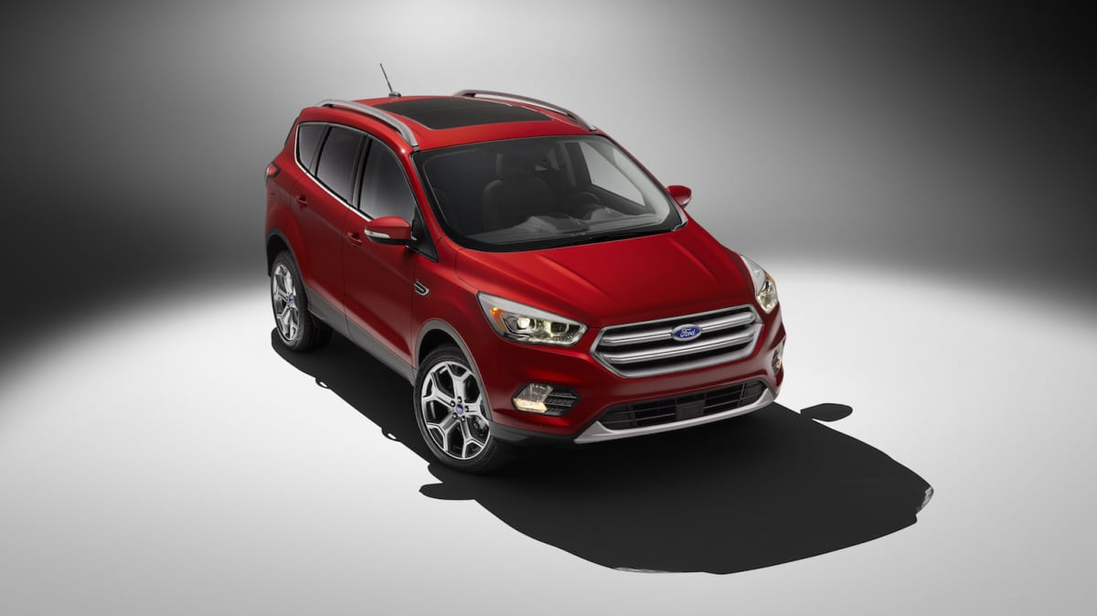 Major Updates For Ford Kuga Due Next Year