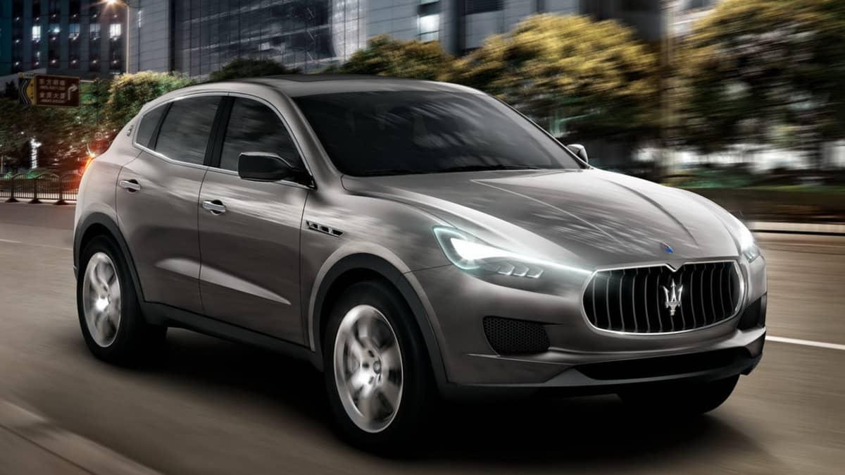 Maserati Kubang SUV Takes Aim At Porsche Cayenne