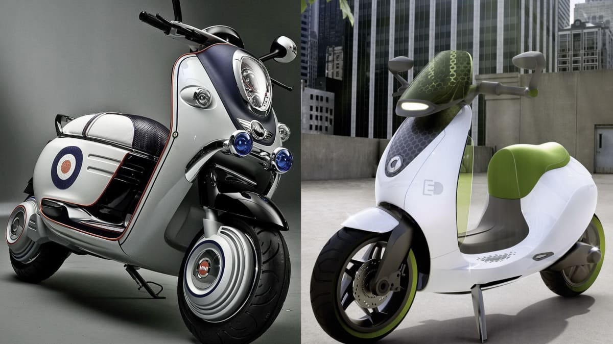 MINI, Smart Reveal Electric Scooter Concepts