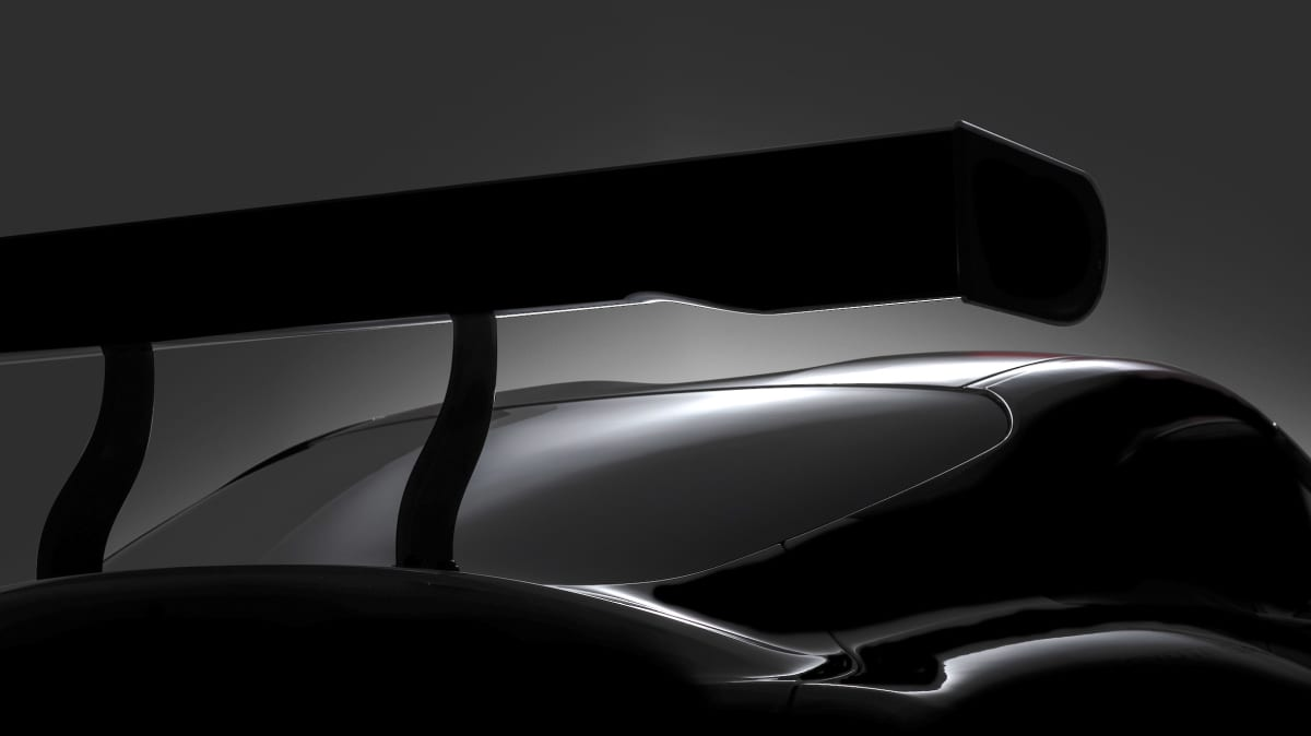 Toyota has teased its upcoming Supra race car concept