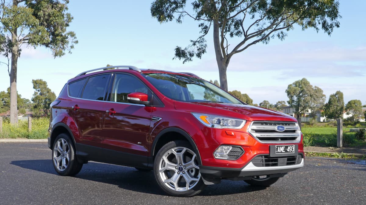 2017 Ford Escape Titanium EcoBoost Review | Chock-Full Of Features, But Safety Still Optional