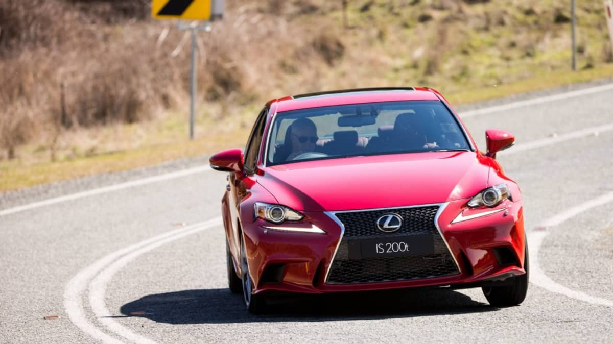 Lexus adds turbopower to its IS lime-up with its new IS200t.