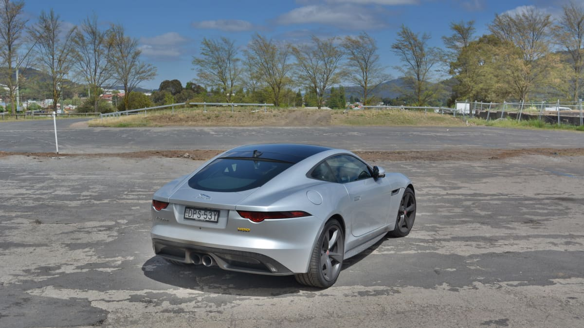 2017 Jaguar F-Type 400 Sport
