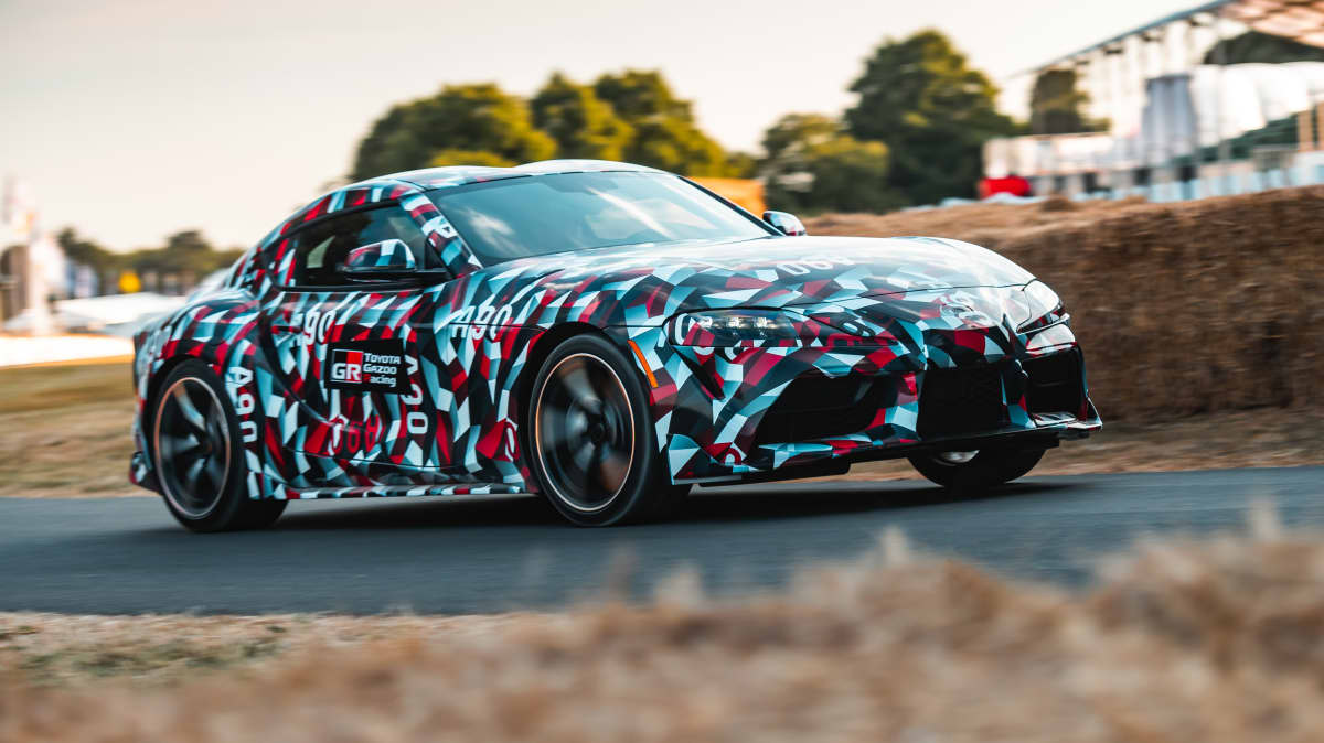 Toyota Supra revealed at Goodwood